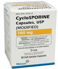 Таблетки Циклоспорин от псориаза