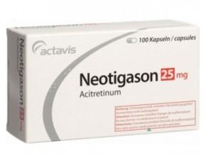 таблетки Неотигазон от псориаза